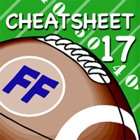 Fantasy Football Cheatsheet & Draft Kit 2017
