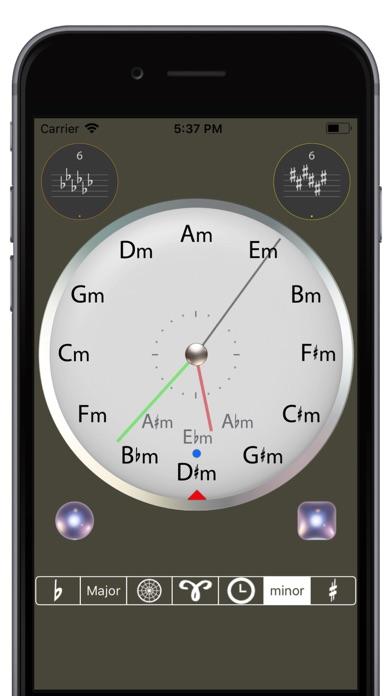 Circle of 5ths Clock Screenshots