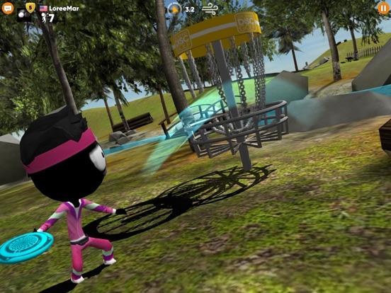 Stickman Disc Golf Battle Screenshots
