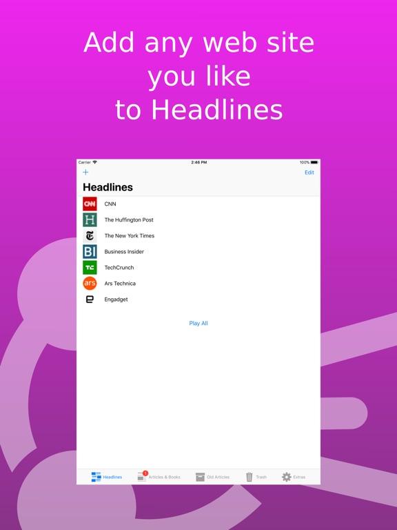 Screenshot #3 for Speech Central: Text to Speech