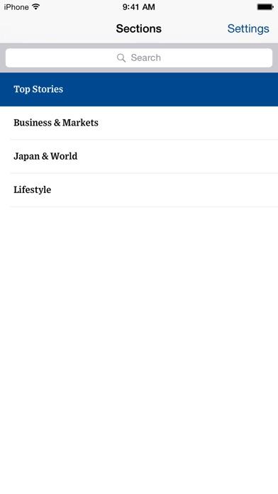 The Wall Street Journal.スクリーンショット