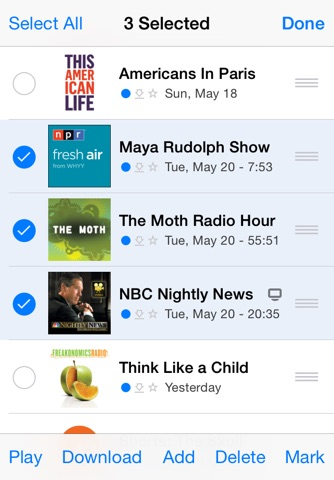 PodCruncher Podcast Player App screenshot 3