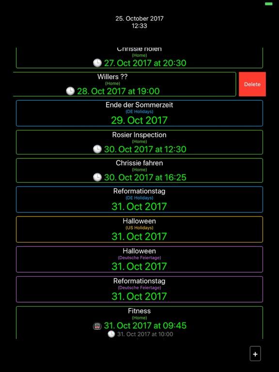 TimeToNext Screenshots