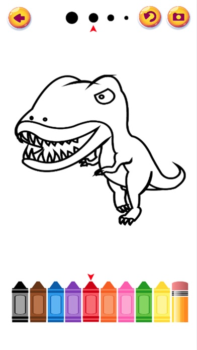 Kid Dinosaur Coloring Pages App Download