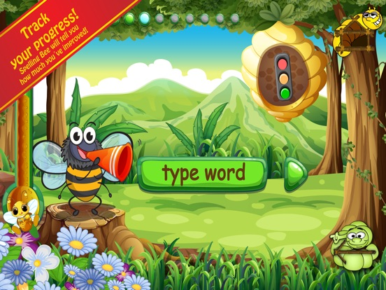 Spelling Bug 1st Grade Words Screenshots