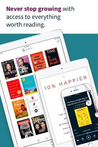 Scribd - Reading Subscription screenshot 1