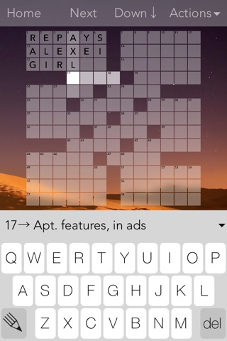 Crossword Puzzles! screenshot 1