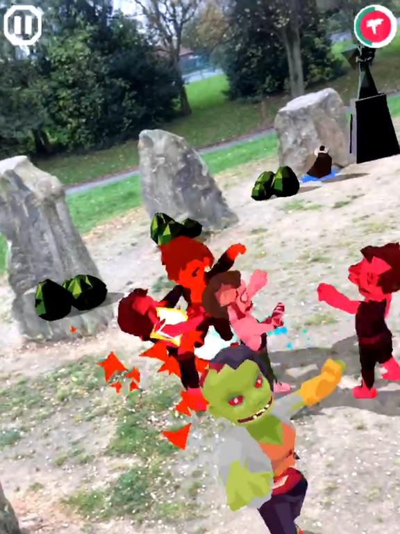 Игра zombies! ARgh!