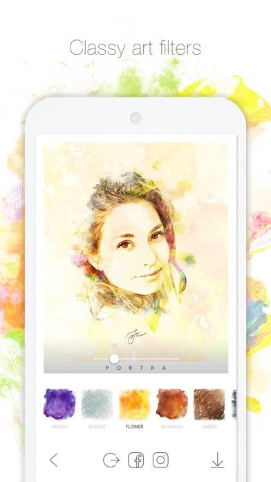 PORTRA 포트라 – 심쿵 아트필터 앱스토어 스크린샷