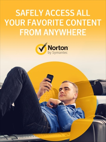 Norton WiFi Privacy VPN screenshot 1