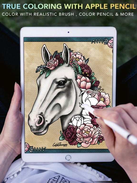 Color Therapy Adult Coloring On The App Store