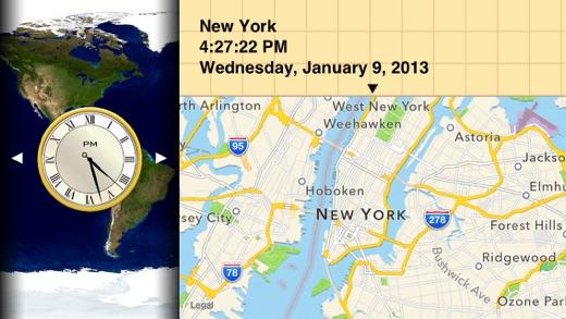 Verdensklokke kart