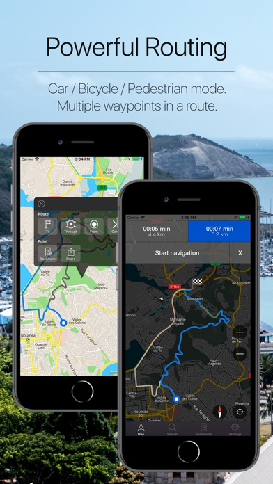 Screenshot for New Caledonia Navigation in Norway App Store