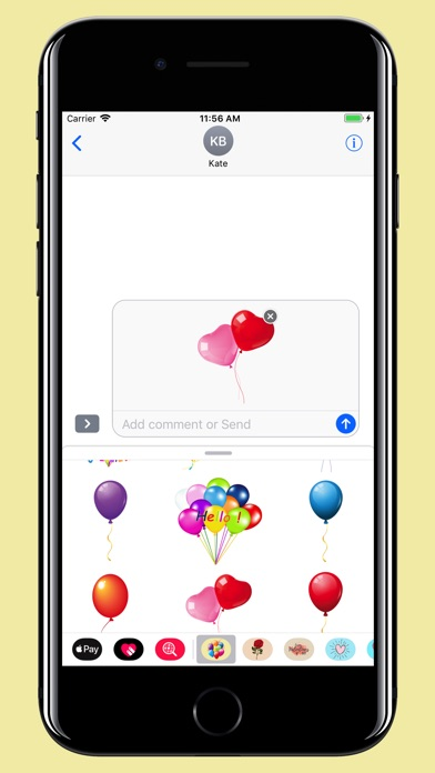download Balloons Stickers - For party apps 4