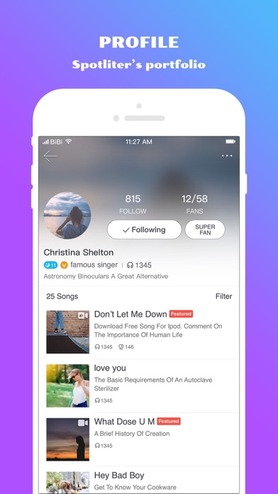 download Spotlite - Sing Freely apps 0