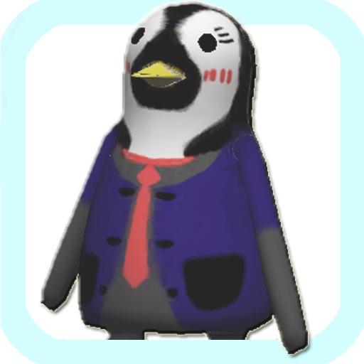 ペンギンが飛ぶ
