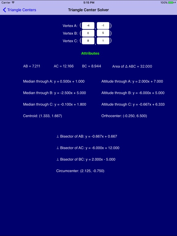 Geometry Pro Screenshots