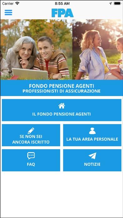 Screenshot of FPA Mobile1