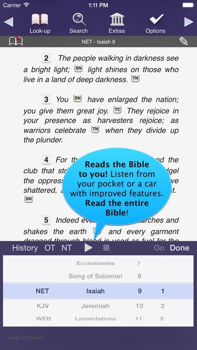 Touch Bible Loaded: Scripture Screenshot