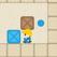 Il cattivo spinge la scatola -