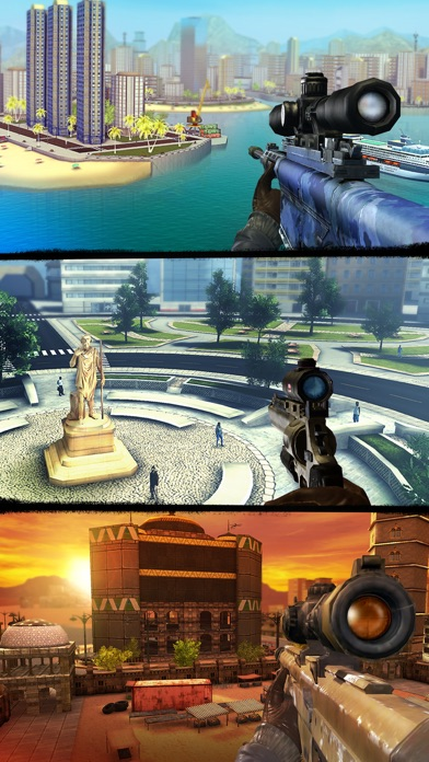 Sniper 3D: Fun FPS Shooting app