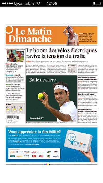 Le Matin Dimanche review screenshots