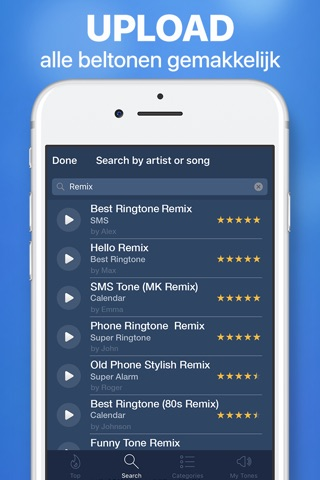 Ringtones for iPhone & Maker screenshot 4