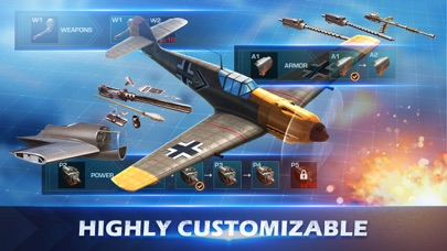 Screenshot of War Wings App