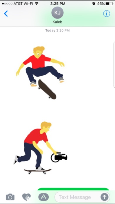 Bit Skate Emoji screenshot 2