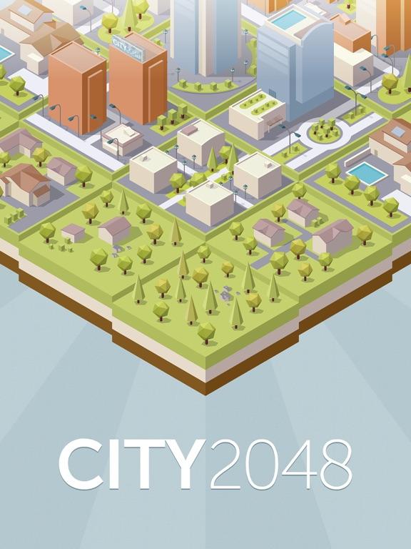 City 2048 на iPad