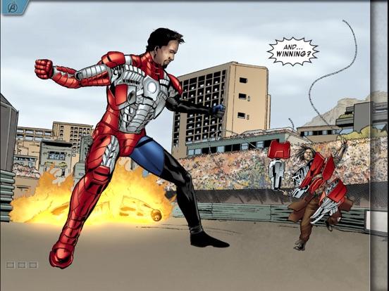 Screenshots of MARVEL'S THE AVENGERS: IRON MAN – MARK VII for iPad