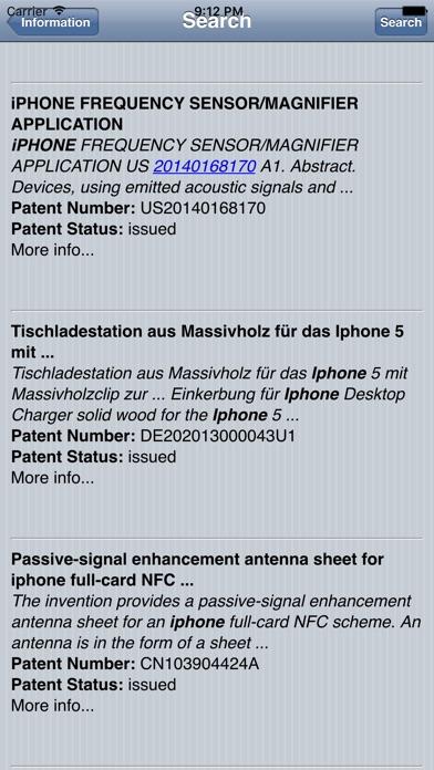 Patent SearcherСкриншоты 1