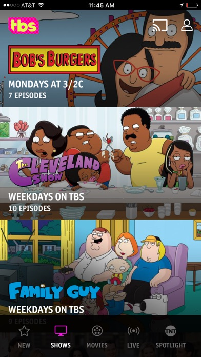 download Watch TBS apps 3