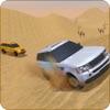 camionetta rally in deserto