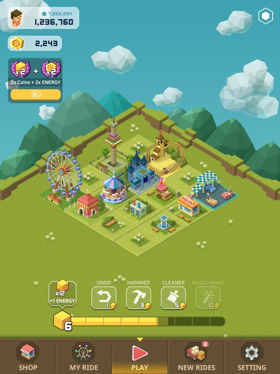 Screenshot 4 2048 Tycoon: Theme Park Mania