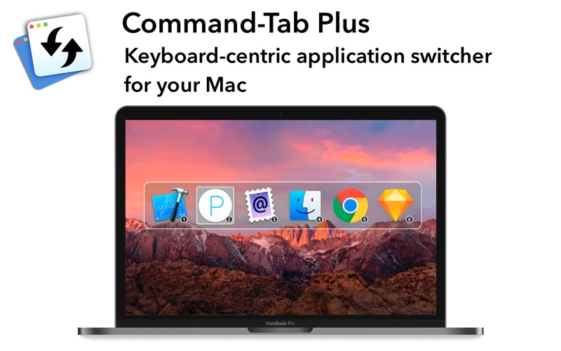 Command-Tab Plus Screenshots