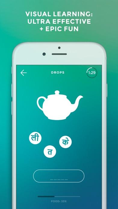 Screenshot of Drops: Impara lingua hindi2