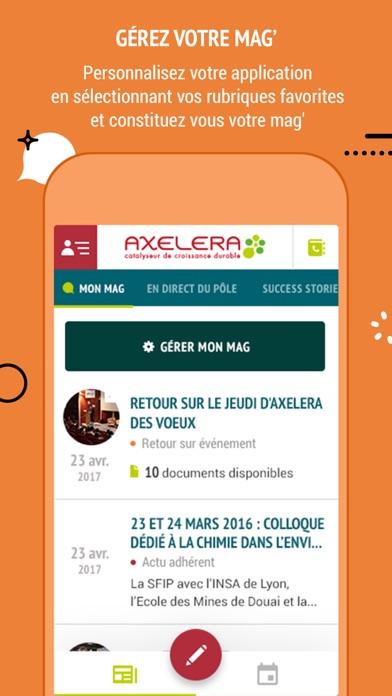 Capture d'écran de My Axelera4
