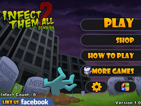 Infect Them All 2 : Zombies на iPad