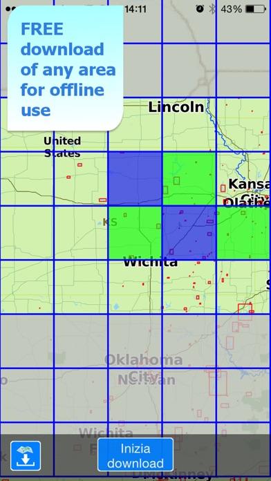 download Aqua Map Kansas Lakes GPS apps 2
