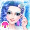 冰雪公主冬季時尚臉部美妝沙龍(女孩化妝、打扮遊戲)