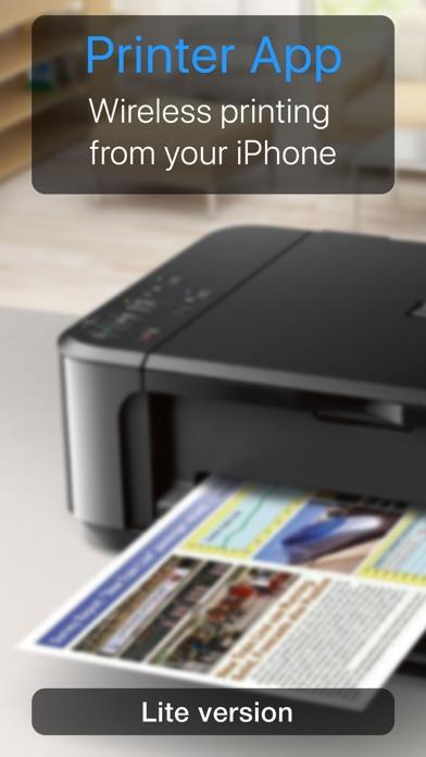 Printer App Lite Screenshot on iOS