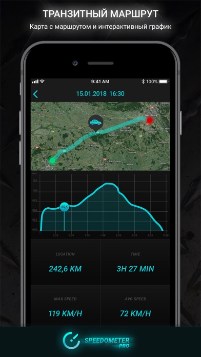Speedometer PRO HUDСкриншоты 2