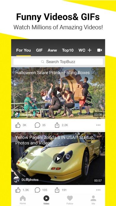 download TopBuzz: Viral Videos & News apps 3