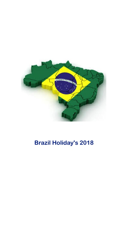 Calendario 2018 Brasil.Brasil Feriado Calendario 2018 By Jignesh Anghan