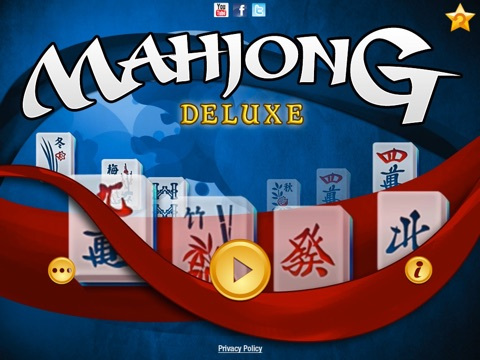 Mahjong Deluxe Go на iPad