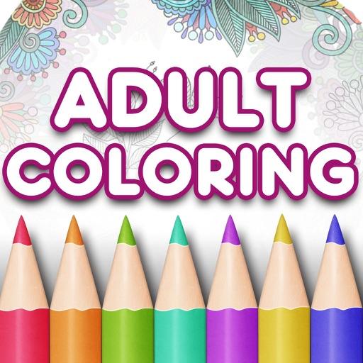 Adult Coloring Book Premium․ iOS App