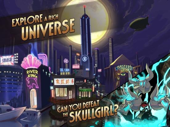 LINE Skullgirls Screenshots