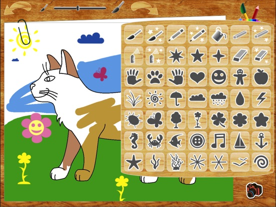 Раскраска Джунгла HD для iPad