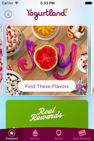 Yogurtland screenshot 1